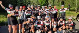 Gruppe 4 på 20 mils sommertur